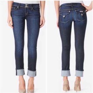 NEW Hudson Ginny crop jeans sz 28